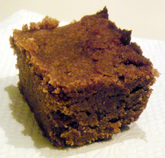Paleo-friendly pumpkin squares